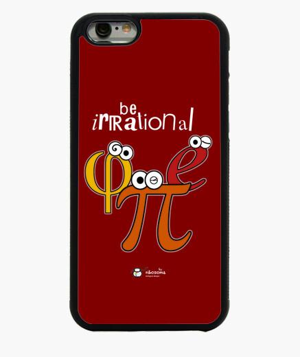Funda iPhone 6 / 6S Be irrational π φ e (fondos oscuros)