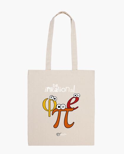 Bolsa Be irrational π φ e (fondos oscuros)