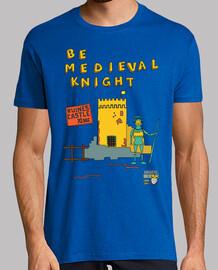 be medieval knight | men short sleeve