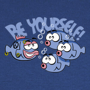 Camisetas Be Yourself - Peces