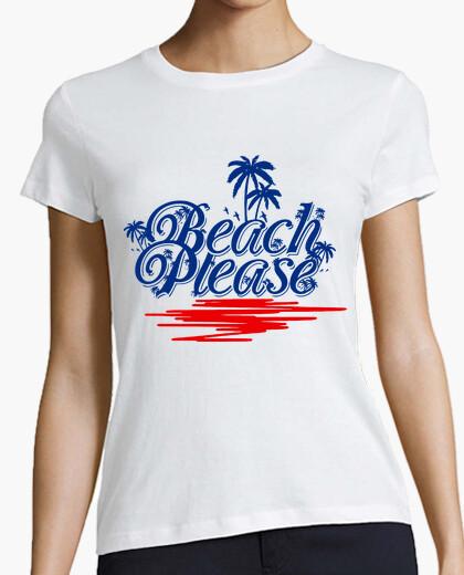 Camiseta Beach Please