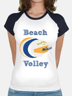 Beach Volley manga corta mujer