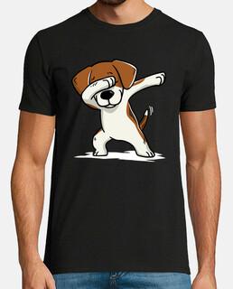 beagle cane dab!