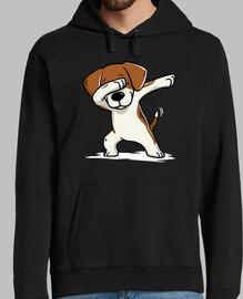 beagle dog dab!