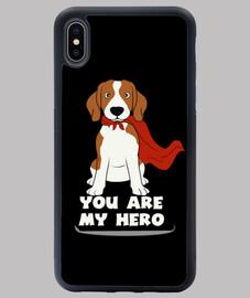 BEAGLE HERO Funda iPhone XS MAX