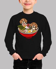 beagle ramen dog