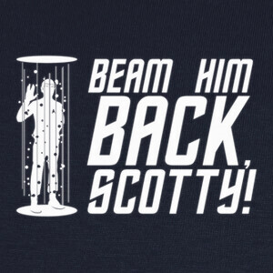 Camisetas Beam Him Back, Scotty