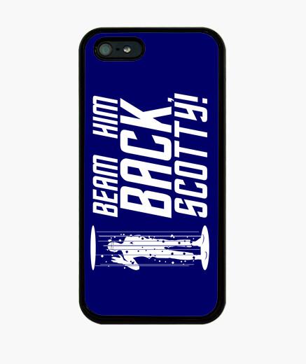 Beam him back, scotty iphone cases