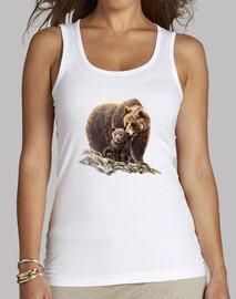 bear and bear cub