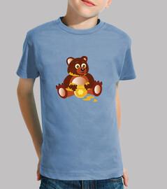 bear and honey jar