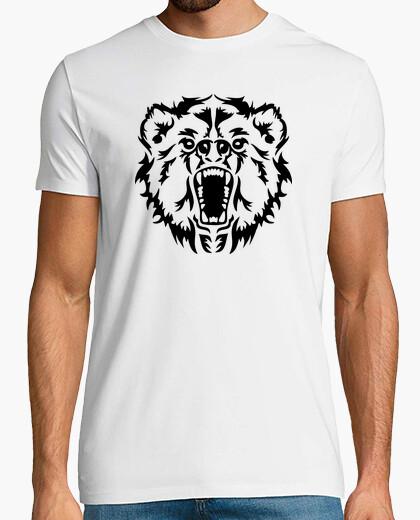 Bear head t-shirt