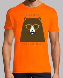 Bear hipster