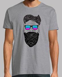 beard hipster cool di progettazione