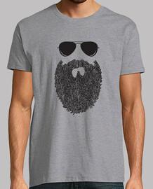 beard hipster glasses man gift