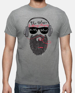 beard hipster music headphones