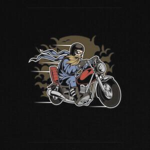 Bearded Biker T-shirts
