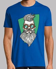 Bearded Man (con fondo).