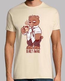 Bearly Awake - Mens Shirt