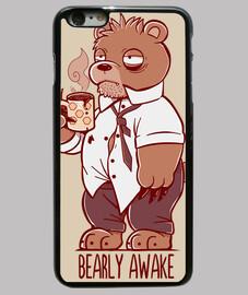 Bearly Awake - Phone case