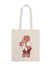Bearly Awake - Tote bag
