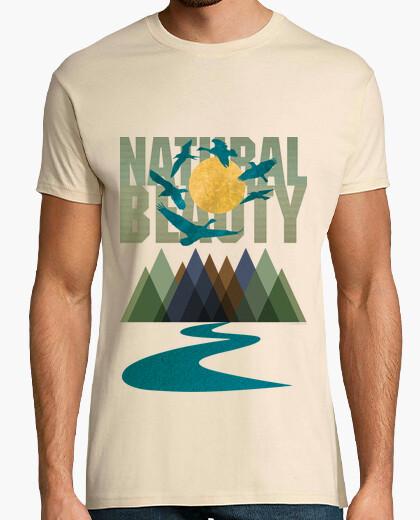 Tee-shirt beauté naturelle - textures