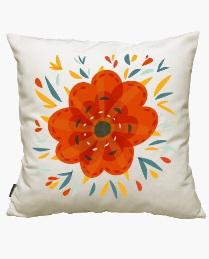 Funda cojín Beautiful Decorative Orange Flower