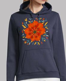 Beautiful Decorative Orange Flower