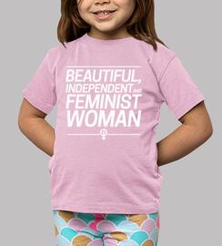 beautiful indépendante and féministe