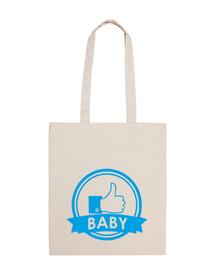 bebé boy_borsa hombro 100 algodón