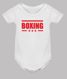 bebé carrocería de boxeo