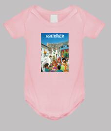 bébé (corps bleu, blanc ou rose)
