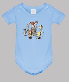 bébé costume de corps chaises-