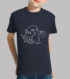 bebè cthulhu - t-shirt bambino