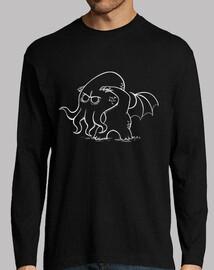 bebè cthulhu - t-shirt maniche t-shirt