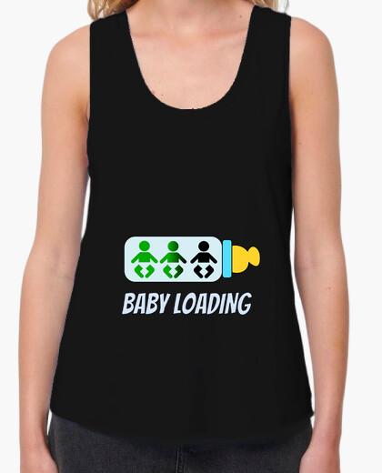 Camiseta bebé de carga