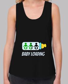 bebé de carga