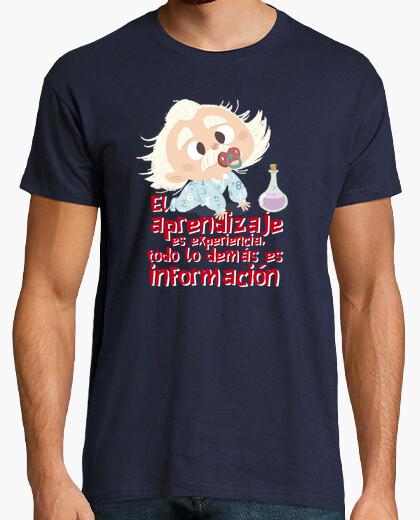 T-shirt bebè einstein dice