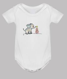 bebè elefante christmas