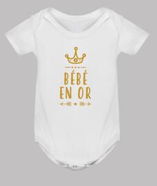 Bébé en or / Naissance