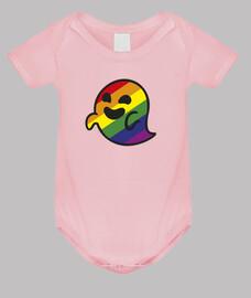 bébé gaysper body rose clair