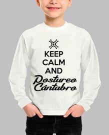 Bebe Keep Calm Postureo Cantanbro