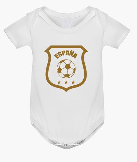 Ropa infantil bebé mono de fútbol - españa