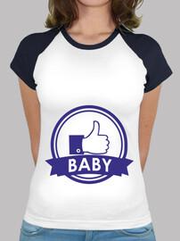 bebé mujer boy_ béisbol