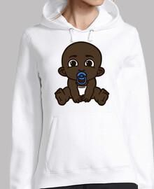 bebé negro bebé negro