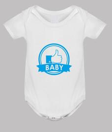 bebé recién nacido boy_body, blanco