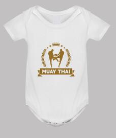 bebé tailandés muay cuerpo