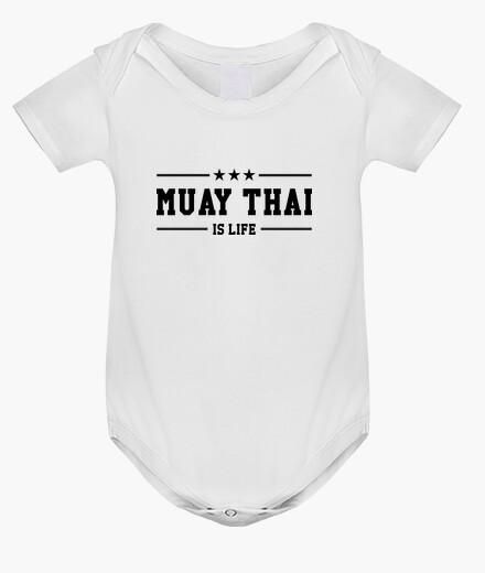 Ropa infantil bebé tailandés muay cuerpo