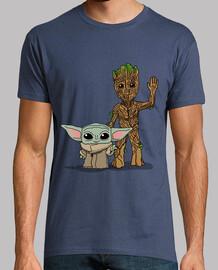 Bebé Yoda Groot, Hombre