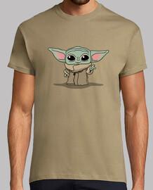 Bebé Yoda, Hombre