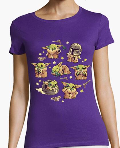 T-shirt bebè yoda mandalorian carino...